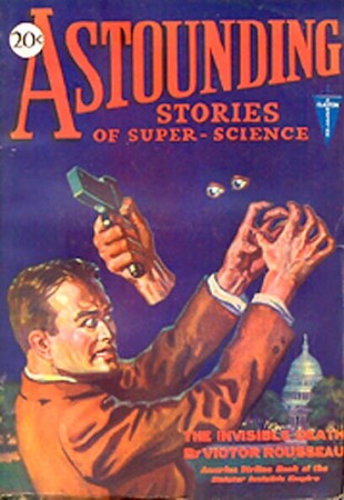 astounding stories of super science: the invisible death