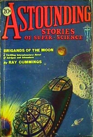 astounding stories of super science - brigands of the moon