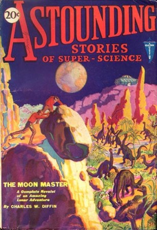 astounding stories of super science: the moon master