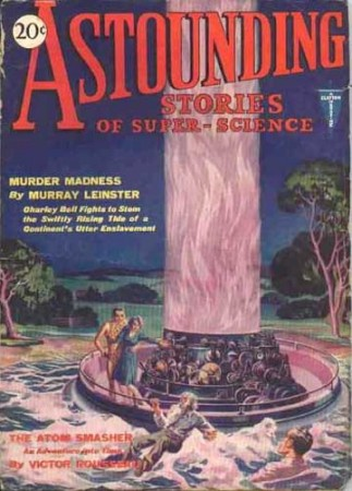 astounding stories of super science: murder madness