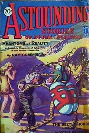 astounding stories of super science: phantoms of reality