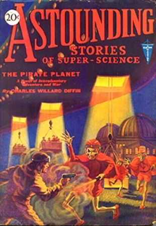 astounding stories of super science: the pirate planet