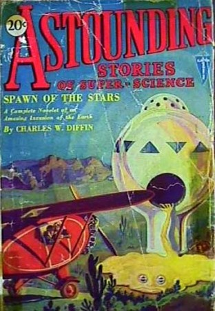 astounding stories of super science: spawn of the stars